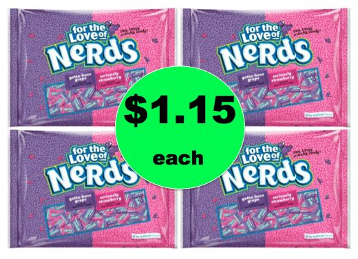 Pick Up FOUR (4!) Bags of Nerds Candy for ONLY $1.15 Each at Target! ~Happening Right Now!