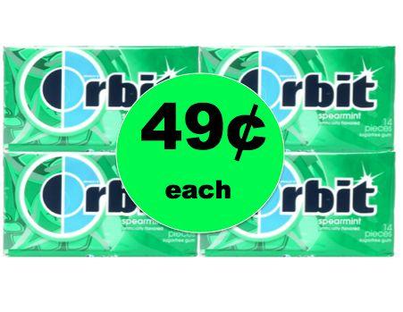More for Your Easter Baskets! Get 49¢ Orbit Gum Singles at Target! (Ends 3/17)