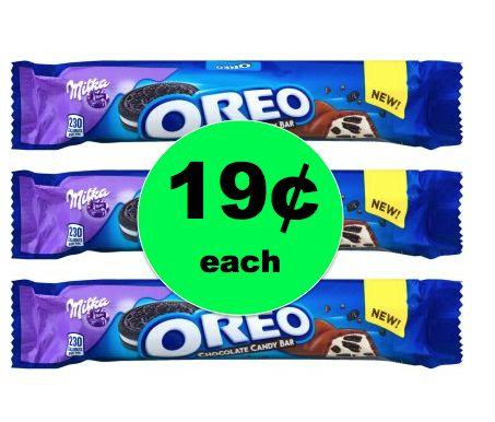 Cheap Chocolate Alert! Pick Up 19¢ Oreo Milka Candy Bar at Walgreens! ~NOW!