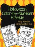 FREE Halloween Color-By-Number Printable!