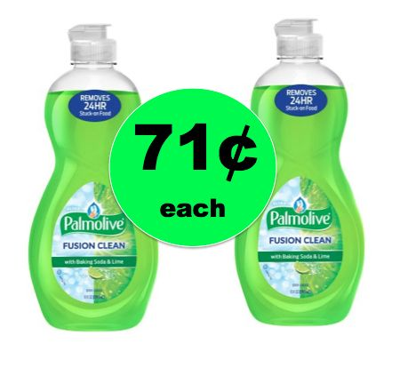 Get Sudsy and Save with Palmolive Ultra Dish Liquid ONLY 71¢ Each at Walmart! ~Right Now!