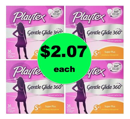 Stock Up on Playtex Tampons BIG Boxes ONLY $2.07 Each at Walgreens! ~ Right Now!