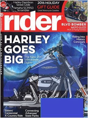 FREE One-Year Subscription to Rider Magazine