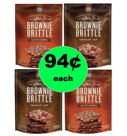 Chocolate Deliciousness! Get Sheila G's Brownie Brittle Bites for ONLY 94¢ RIGHT NOW at Target! ~This Week Only!
