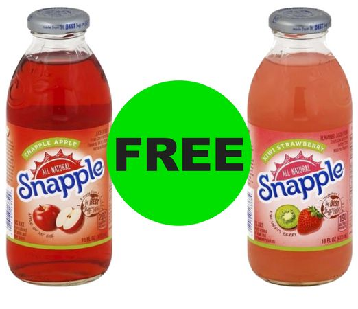 If It's FREE, It's for ME! Pick Up Your (2!) FREE Snapple Drinks at CVS ~ Starts TODAY!