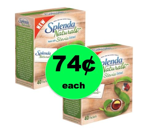 Sweeten It Up with 74¢ Splenda Naturals Stevia Sweetener at Target! ~Right Now!