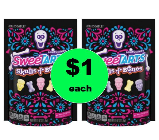 Spooky Fun! Get $1 SweeTarts Halloween Candy Bags at Target! ~Right Now!