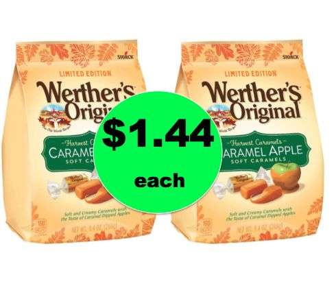 Get Those Apples Ready! Pick Up $1.44 Werther's Harvest Caramels at Target! ~Right Now!