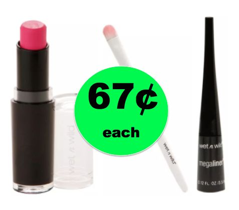 Score Wet n Wild Cosmetics ONLY 67¢ Each {No Coupon Needed} at Walgreens! ~Starts Today!
