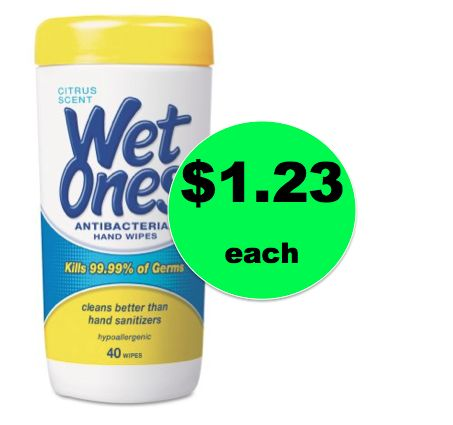 Say Goodbye to Germs with $1.23 Wet Ones Hand Wipes at Walmart! ~Get Clean Now!