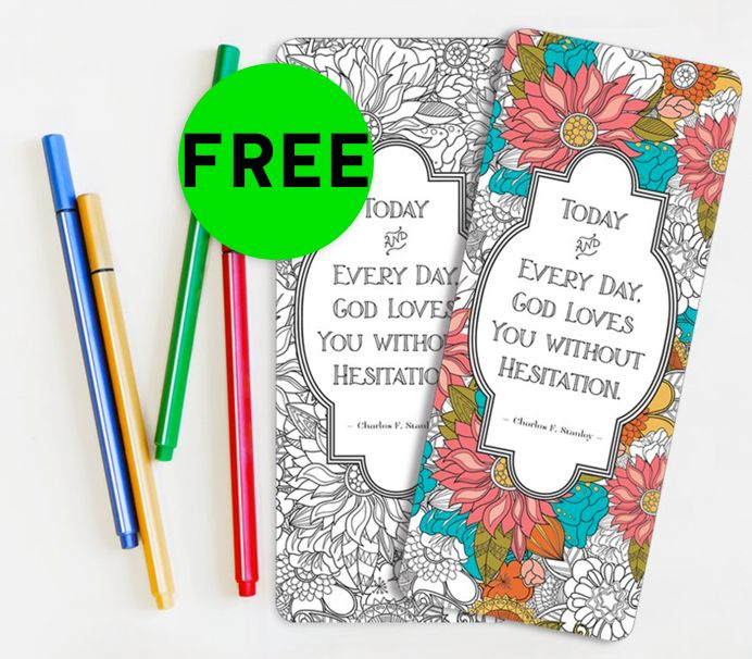 FREE In Touch Ministries Bookmarks!