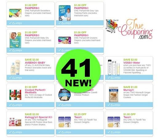 Did You SEE the Forty-One (41!) **NEW** Printable Coupons That JUST Came Out ?!!