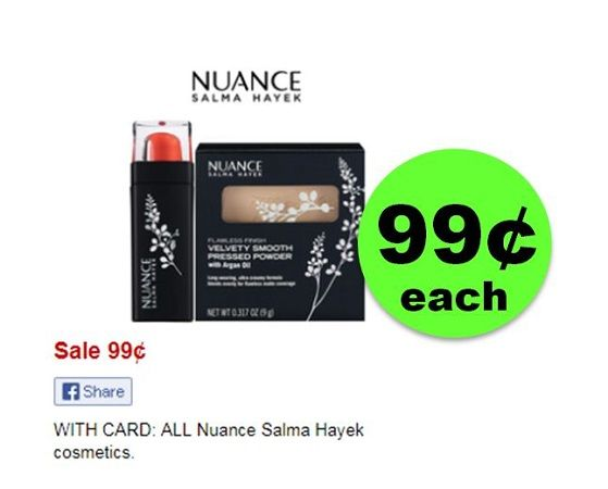 Maekup Stock Up Time! ALL Nuance Salma Hayek Cosmetics ONLY 99¢ {No Coupon Needed!} at CVS!~ Right Now!
