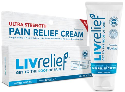 FREE Natural Pain Relief Cream!