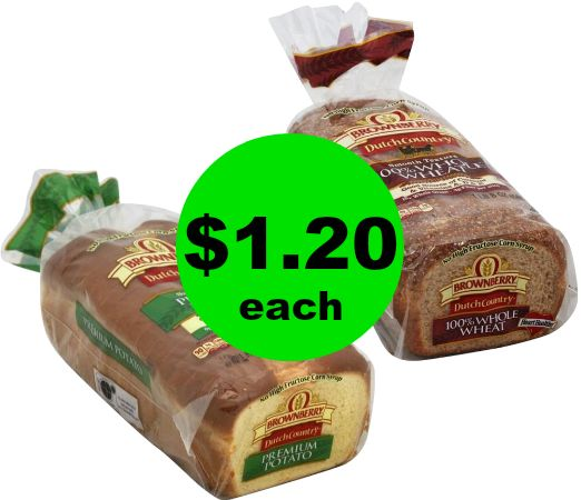 Need Bread? Arnold Dutch Country Bread for $1.20 Each at Publix! ~ Ends Wednesday 11/29!
