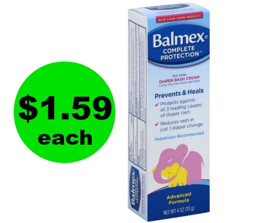 Publix Deal: $1.59 Balmex Diaper Cream (Save 65% Off)!