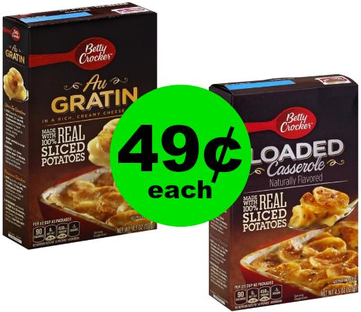Side Dish DONE! 49¢ Betty Crocker Potatoes at Publix! ~ Ad Starts Today!