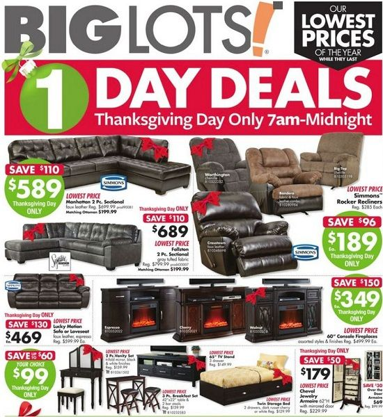 Big Lots Black Friday Ad Scan 2017 188 DVDs B2G1 Toys