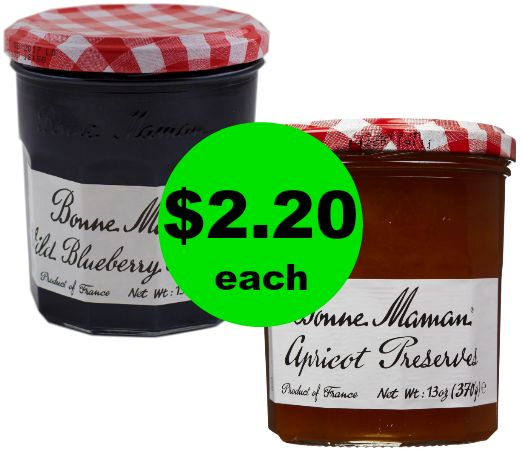 Bonne Maman Preserves or Jelly for $2.20 Each at Publix! ~ Starts Today!
