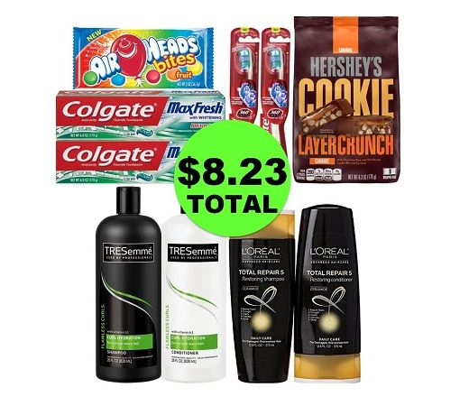 For Only $8.23 TOTAL, Get (2) Candies, (4) Oral Care & (4) Hair Care This Week at CVS!
