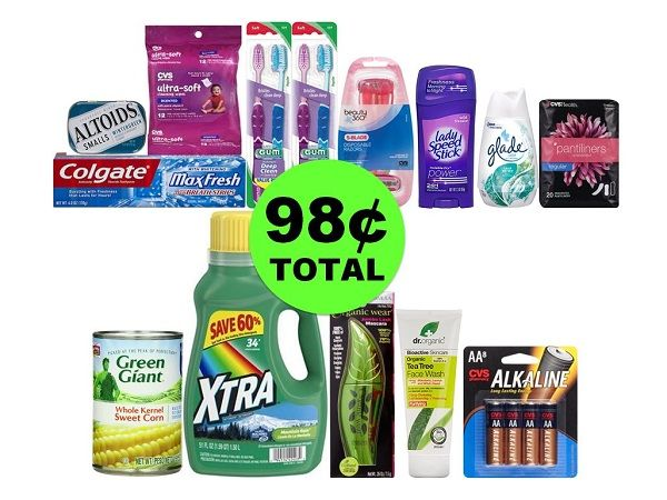 For Only 98¢ TOTAL, Get Fourteen (14!) Products Including Oral Care, Cosmetics & More at CVS! ~ Starts Thurs 11/23!