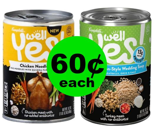 Enjoy a Warm Lunch with 60¢ Campbell's Well Yes! Soups at Publix! (1/3-1/9 or 1/4-1/10)