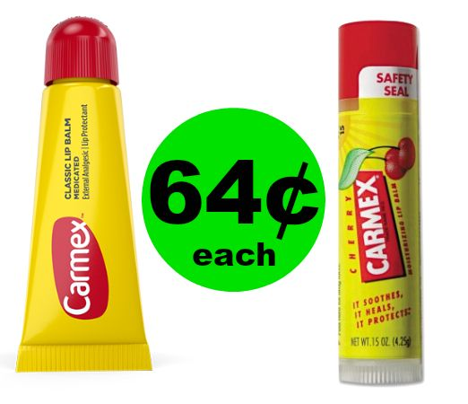 Get Ready for the Cooler Weather with 64¢ Carmex Lip Balm at Publix! ~ Happening Now!