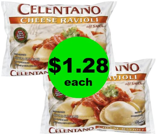 Quick Dinner! Celentano Pasta for $1.28 Each at Publix! ~Starts Weds/Thurs!