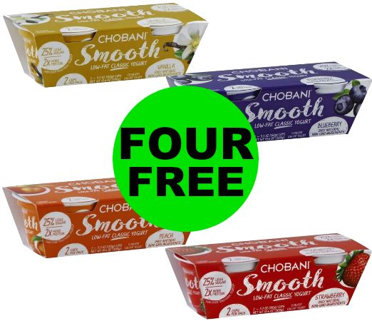 Don't Miss FOUR (4!) FREE Chobani Yogurt at Publix! ~ Ends Friday!