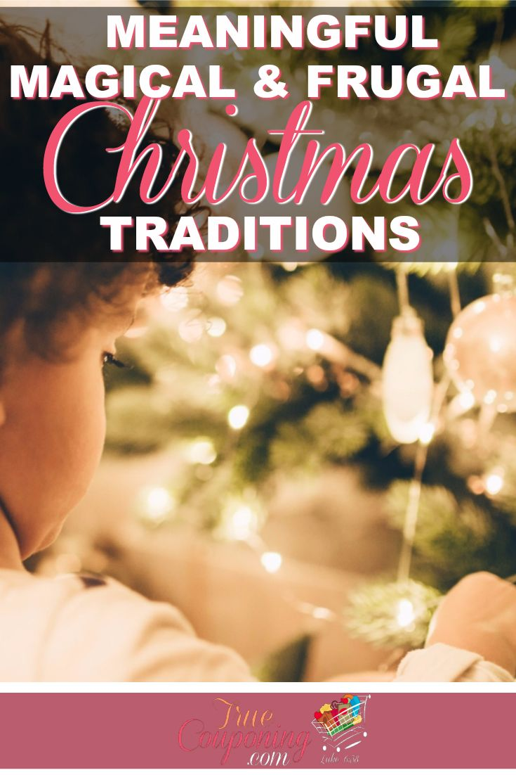 You don't need a lot of money to create meaningful Christmas traditions with your family!