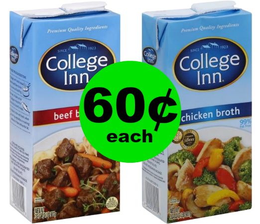 Stock Up on 60¢ College Inn Broth Cartons at Publix!~ Starts Weds/Thurs!