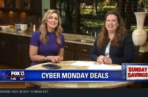 Fox 13 Savings Segment ~ SEVEN Best Tips on Saving the Most on Cyber Monday!