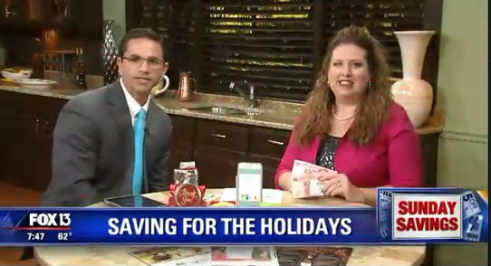 Join Me on Fox at 7:30am This Sunday 12/10 for Ways to Decorate Your Christmas Dinner Table on a Dime!