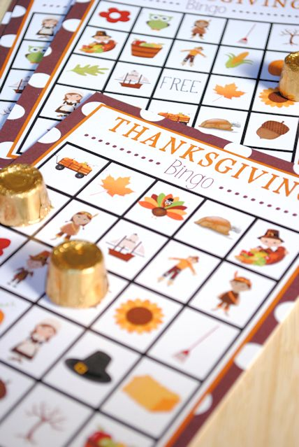 FREE Thanksgiving Bingo Printable!