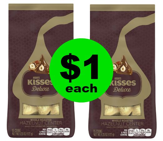 (**Update: NLA**) It's Chocolate Time! Pick Up $1 Hershey's Kisses Deluxe Pouches at CVS! ~ Starts Sunday!