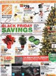 Home Depot Black Friday Ad Scan 2017 {99¢ Poinsettas, AA & AAA Battery 54 Packs ONLY $9.88!}