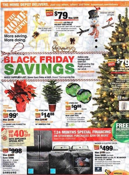home depot black friday 2017 ad scan