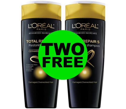Don't Forget to Pick Up TWO (2!) FREE L'Oreal Advanced Hair Care at CVS! ~ Ad Ends Today!
