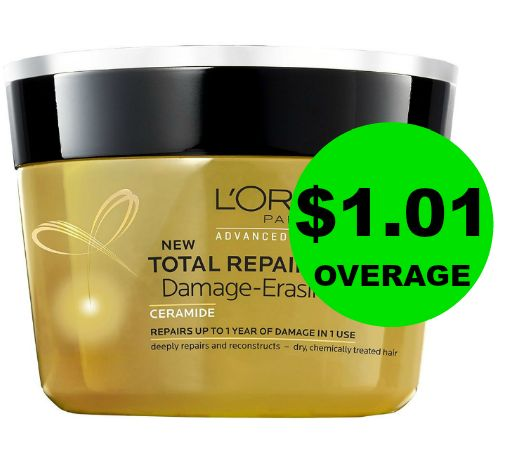Want Great Hair AND a Great Deal?! FREE + $1.01 OVERAGE on L'Oreal Expert Treatment at Publix! ~ Right Now!
