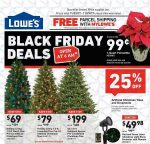 Lowe's Black Friday Ad Scan 2017 {99¢ Pointsettias, $5 LED Christmas Lights & More!}