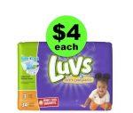 Print NOW for $4 Luvs Jumbo Diaper Packs @ Winn Dixie ~ Starts Friday, 11/24!
