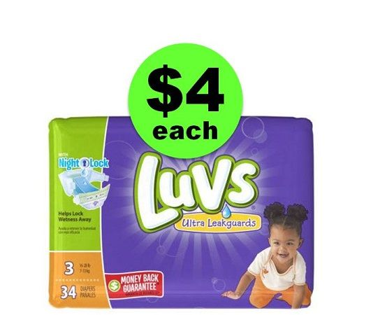 Print NOW for $4 Luvs Jumbo Diaper Packs @ Winn Dixie ~ Starts Friday, 11/24!