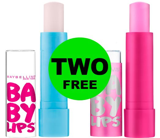 Get Softer Lips with TWO (2!) FREE Maybelline Baby Lips Lip Balms at CVS! ~ Starts Sunday!