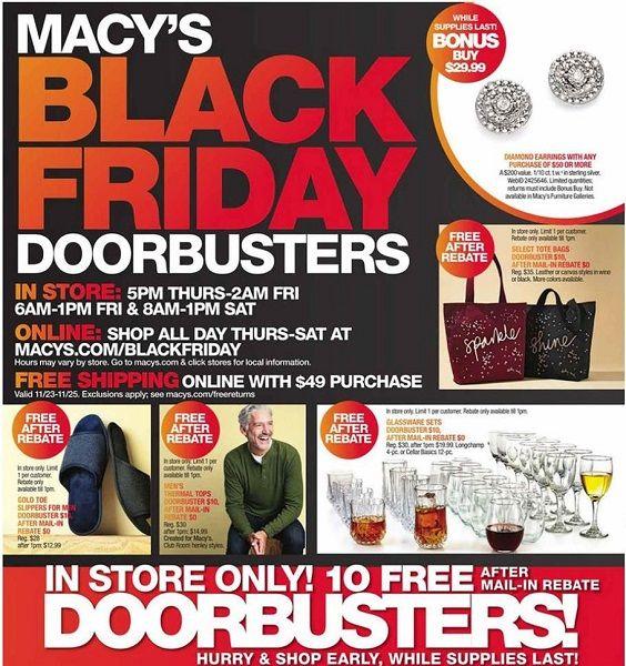 Coupons discount black friday macys