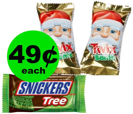 Treat Yourself to 49¢ Mars Holiday Candy Singles at CVS! ~ Starts Sunday!