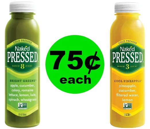 Print Now & Drink UP! Naked Cold Pressed Juice Drinks at Publix for 75¢ Each! ~ Ends Tues/Weds!