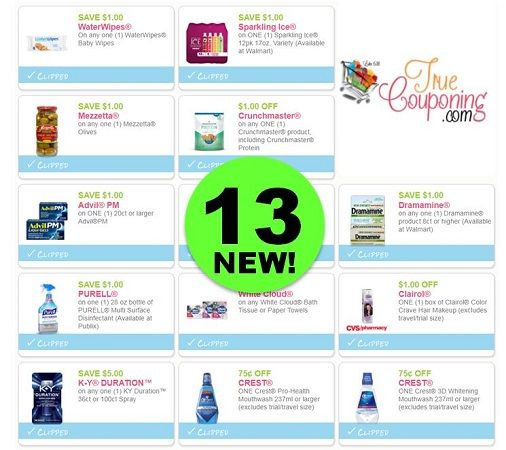 PRINT the Thirteen (13!) **NEW** Coupons Out Today!