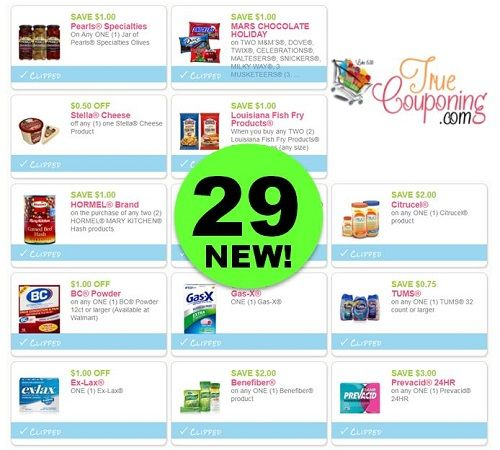 PRINT the Twenty-Nine (29!) Coupons That Came Out This Weekend!