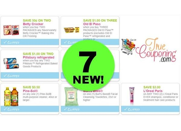Print the SEVEN (7!) **NEW** Coupons for Pillsbury, Betty Crocker & More!