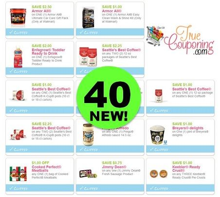 HURRY & Print the Forty (40!) **NEW** Coupons That Came Out This Weekend!